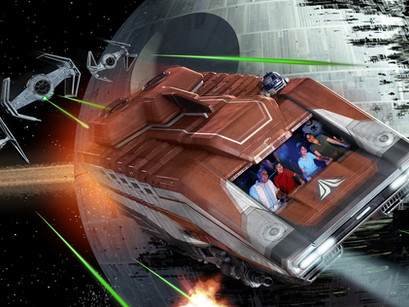 What is happening to the old Star Wars attractions when Galaxy's Edge opens?