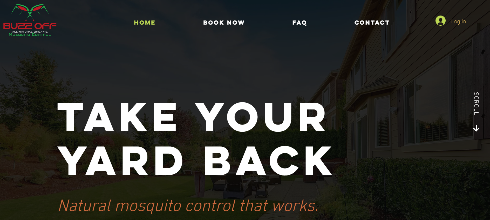 Buzz Off Now | Natural Mosquito Control