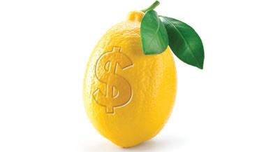 Look for lemons and start making lemonade