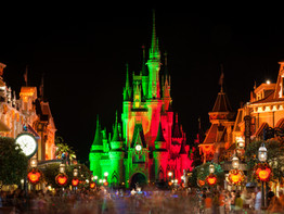 Differences between Walt Disney World's Halloween and Christmas parties