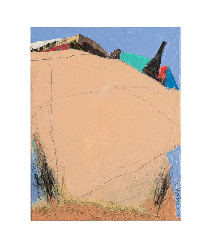 la vie, 40.9x31.8cm, mixedmedia on canavs, 2020