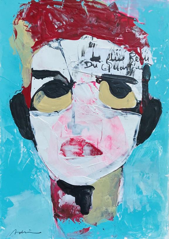 self portrait, 21x29cm, 2020