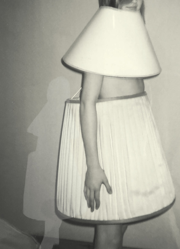 Shadow from series: Lampshade Dress