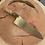 "Thumbnail: 8"" Chef Knife- blue maple/ maple burl"