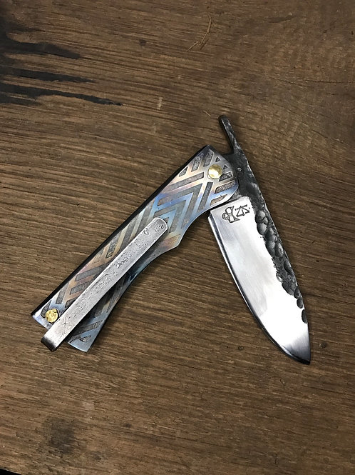 Forged in Kol Drop Point Friction folder