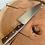 "Thumbnail: 8"" Chef Knife- Green maple/Iron wood"