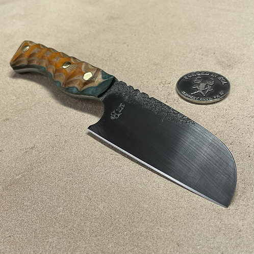 Mini Cleaver with Skateboard Deck