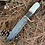 Thumbnail: Damascus North Country Hunter with sheath