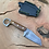 Thumbnail: Sidekick -  Kerambit with natural micarta andKydex sheath-#2