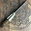 """Thumbnail: Feather pattern 7"""" chefs knife"""