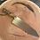 """Thumbnail: 8"""" Chef Knife- Osage Orange/ Greenmaple burl"""