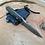 Thumbnail: Sidekick -   Drop Point with Black Micarta and Kydex sheath 2