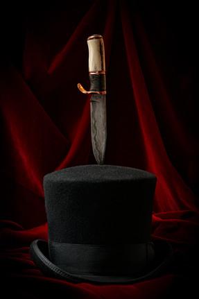 San Mai Damascus Knife