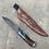 Thumbnail: Camp knife with custom engraved sheath
