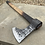 Thumbnail: Throwing Tomahawk made from Rasp