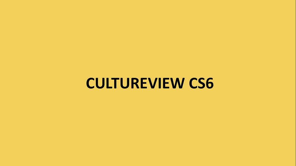CULTUREVIEW CS6