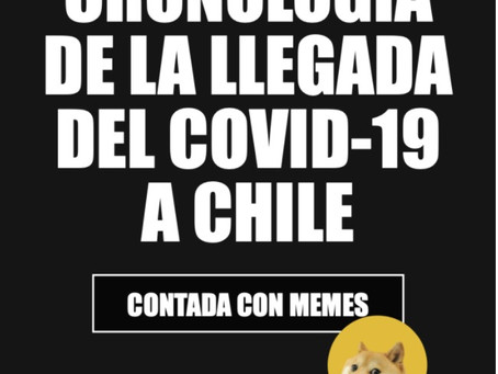 Cronología de la llegada del Covid-19 a Chile, contada con Memes.