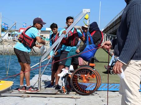 Wheel the World y Puerto Deportivo Valparaíso juntos por la Náutica para Todos