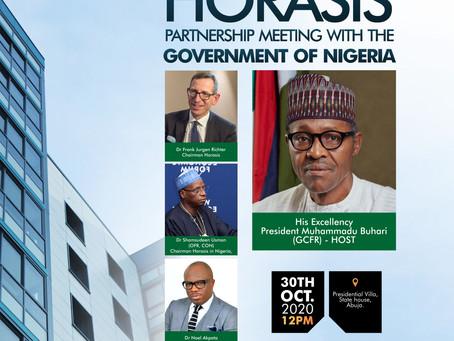 Power Konnect Founder meets President Buhari to create Horasis global hub for Business leaders