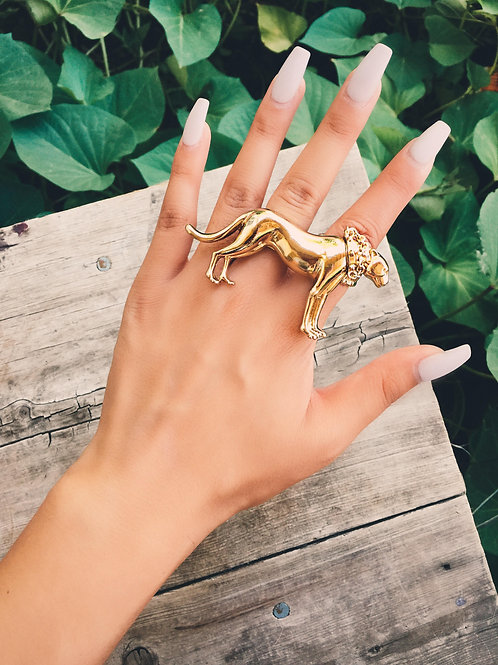 Dawg Double Finger Elastic Ring