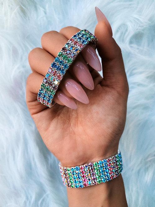 Rainbow Elastic Bracelet