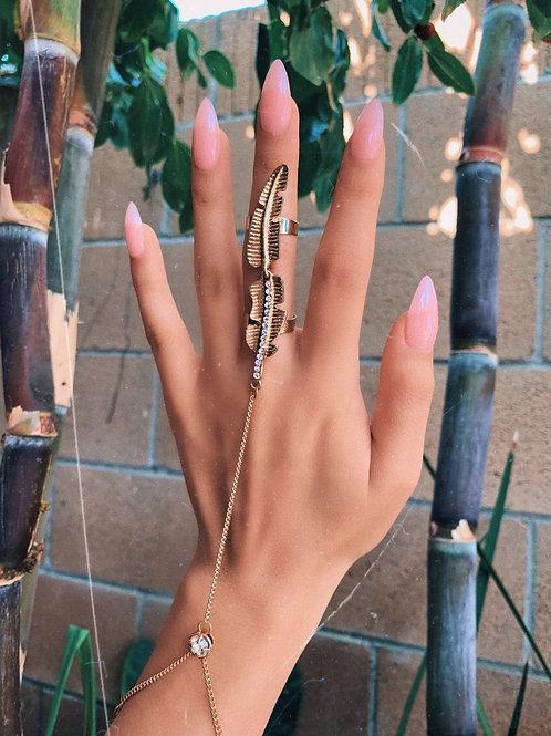 Golden Feather Ringlet