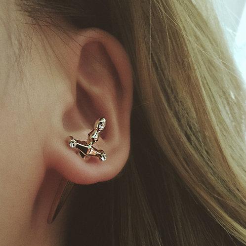 Sword Stud Earring