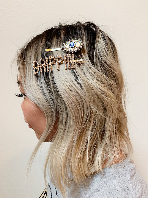 Drippin Gold Hair Pin