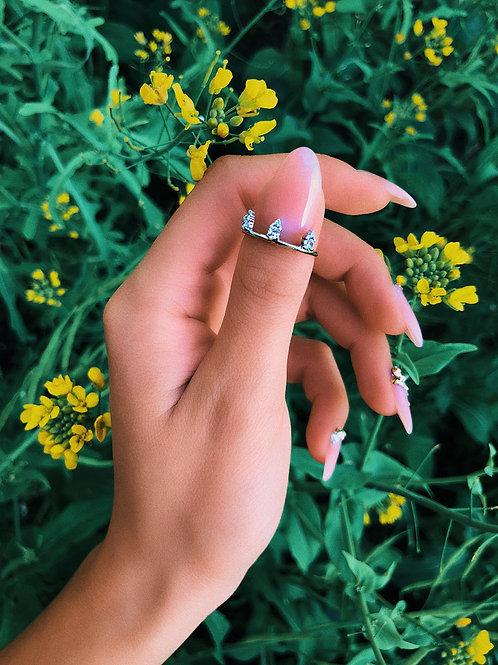 Crystal Peaks Ring