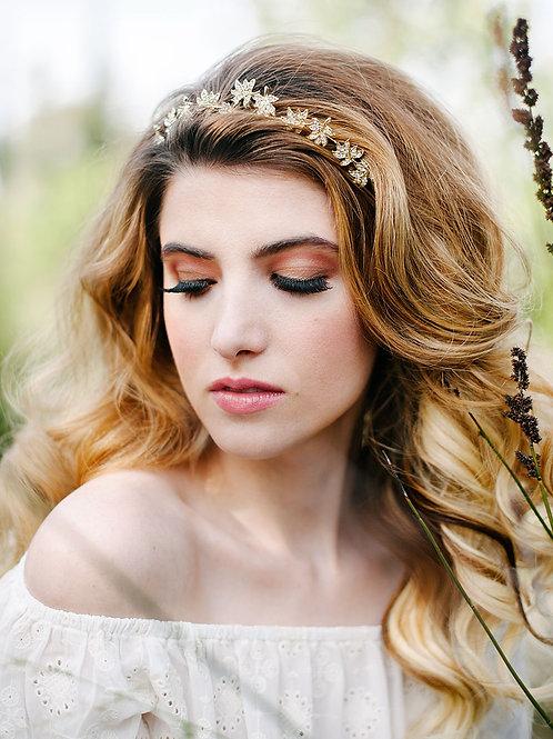 Sharp Flower Hair Vine