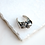 Thumbnail: Metallic Volcanic Rock Ring