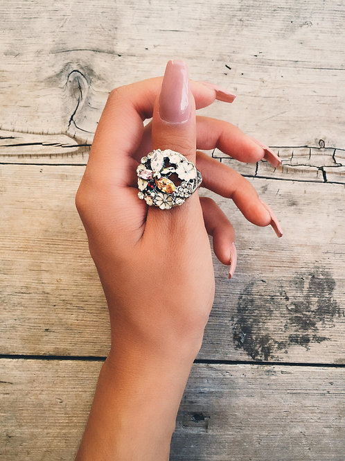 Royal Garden Crystal Ring