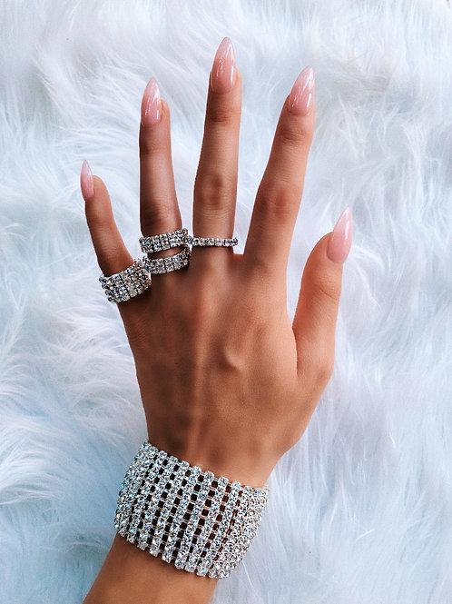 Crystal Bulk Bracelet