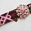 Thumbnail: Pink Floral Patch Bracelet