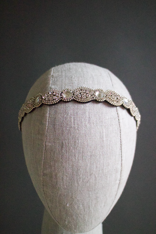 Crystal Bedazzled Shapes Headband