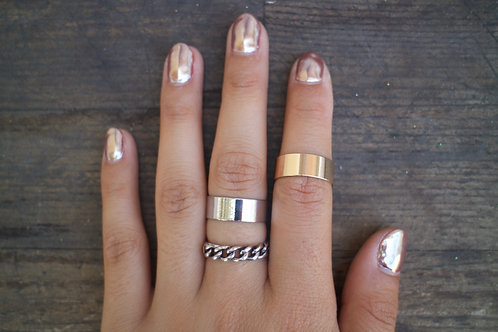 Mixed Chain Rings Set