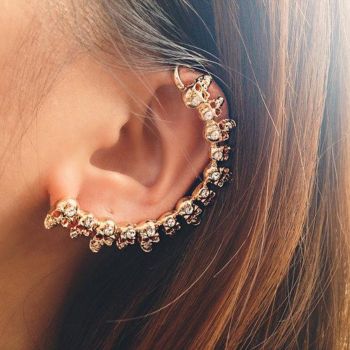 All Around Skulls Ear Cuff