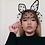 Thumbnail: Large Polka Dot Cat Ears Headband