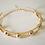 Thumbnail: Golden Rock N Roll Choker Necklace