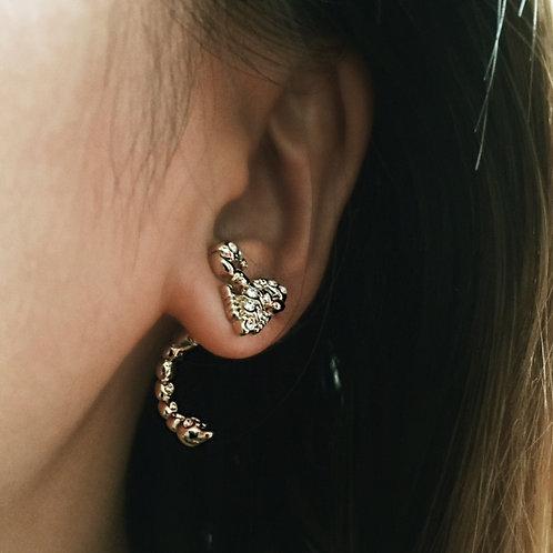Scorpion Stud Earring