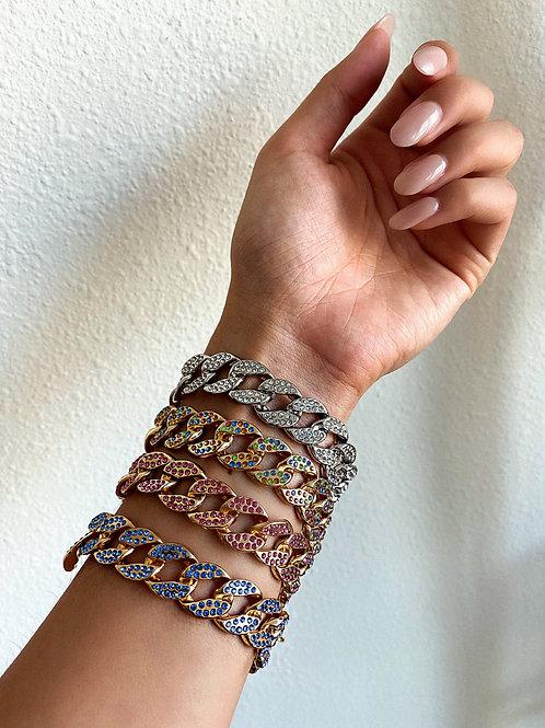 Bulk Round Crystal Bracelet