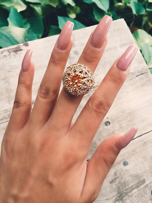 Crystal Sun Light Ring