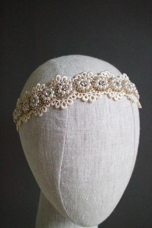Lani Pearl Lace Headband