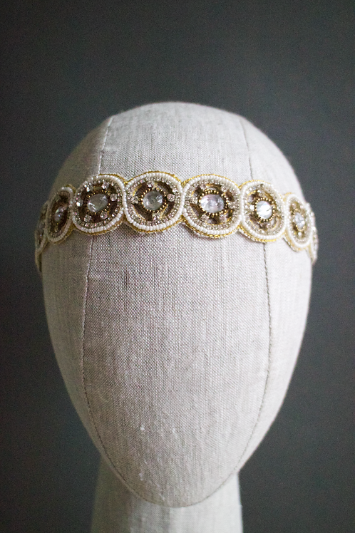 Arella Sphere Beaded Headband