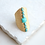 Thumbnail: Turquoise Gold Rock Ring