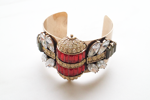 Candied Jewel Bug Bangle