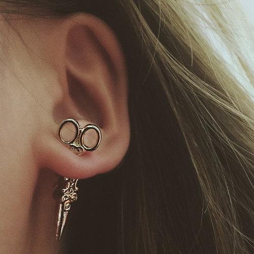 Scissor Stud Earring