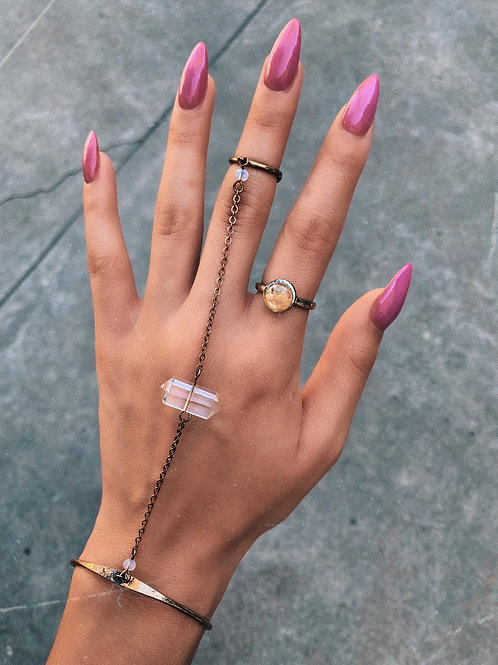 Light Shell Ring
