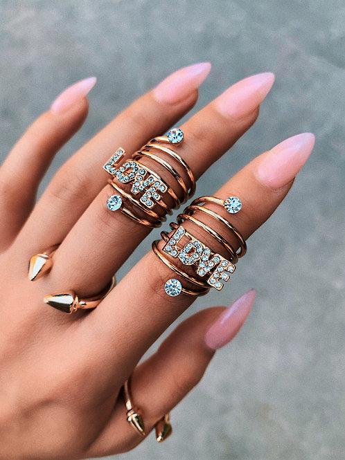 Love Swirl Ring