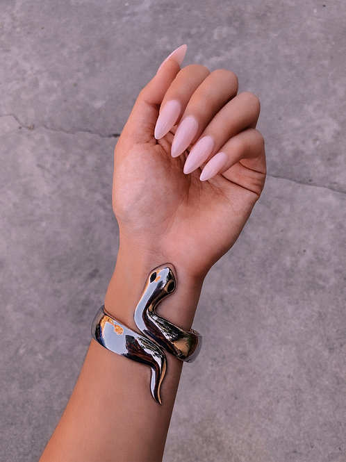 Metal Snake Wrap Bangle